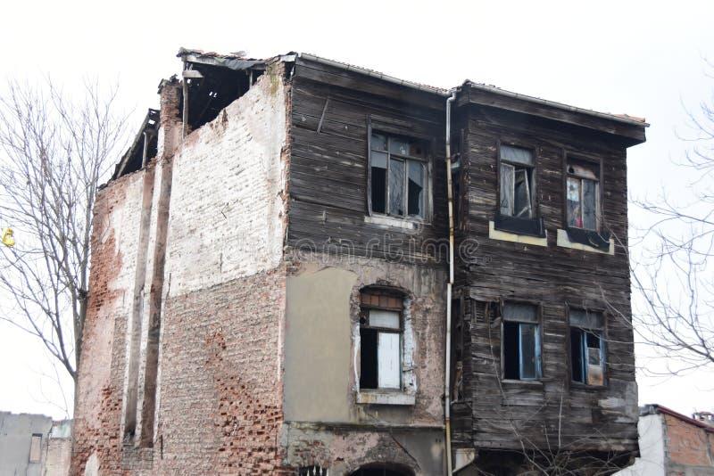 Suleymaniye för sikt för Istanbul stad historisk byggande gata royaltyfria foton