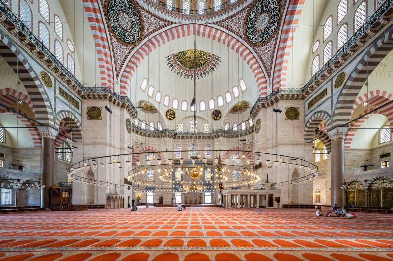 Suleymaniye Meczet obraz stock