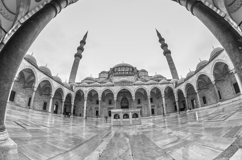 Suleymaniye meczet - Suleymanice Camii Istanbuł obraz royalty free