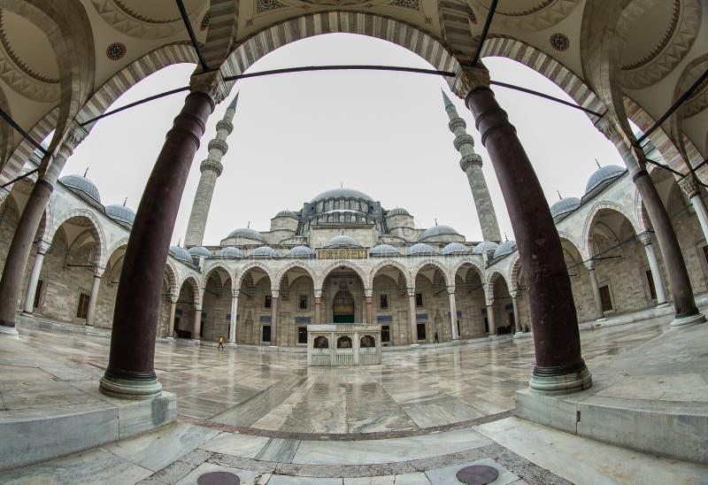 Suleymaniye meczet - Suleymanice Camii Istanbuł zdjęcia stock