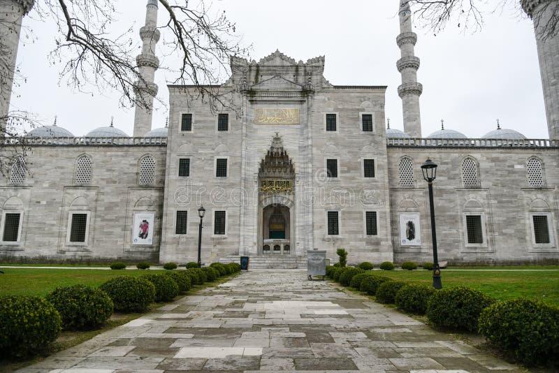 Suleymaniye meczet w Istanbuł fotografia royalty free