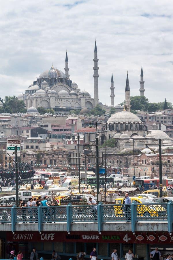 Suleymaniye Meczetowy Istanbuł Turcja obrazy stock