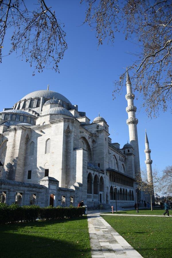 Suleymaniye-Moschee in Ä°stanbul stockbilder