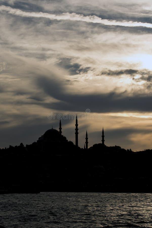 Suleymaniye Moschee stockfoto