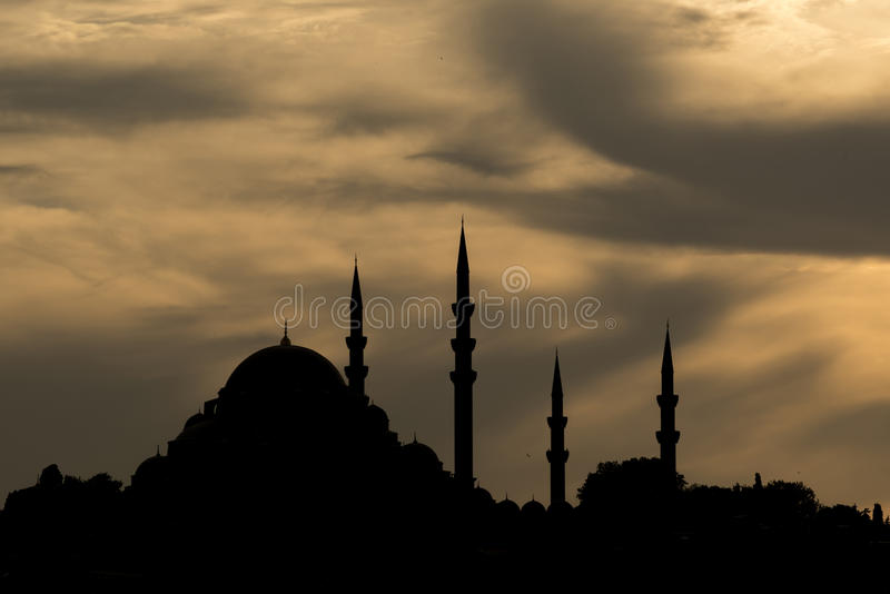 Suleymaniye Moschee stockbilder