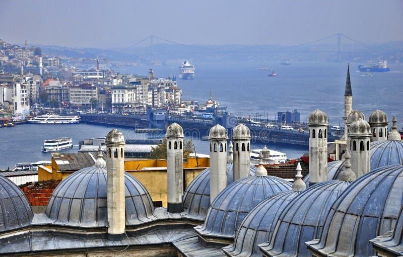 Suleymaniye Moschee lizenzfreie stockbilder