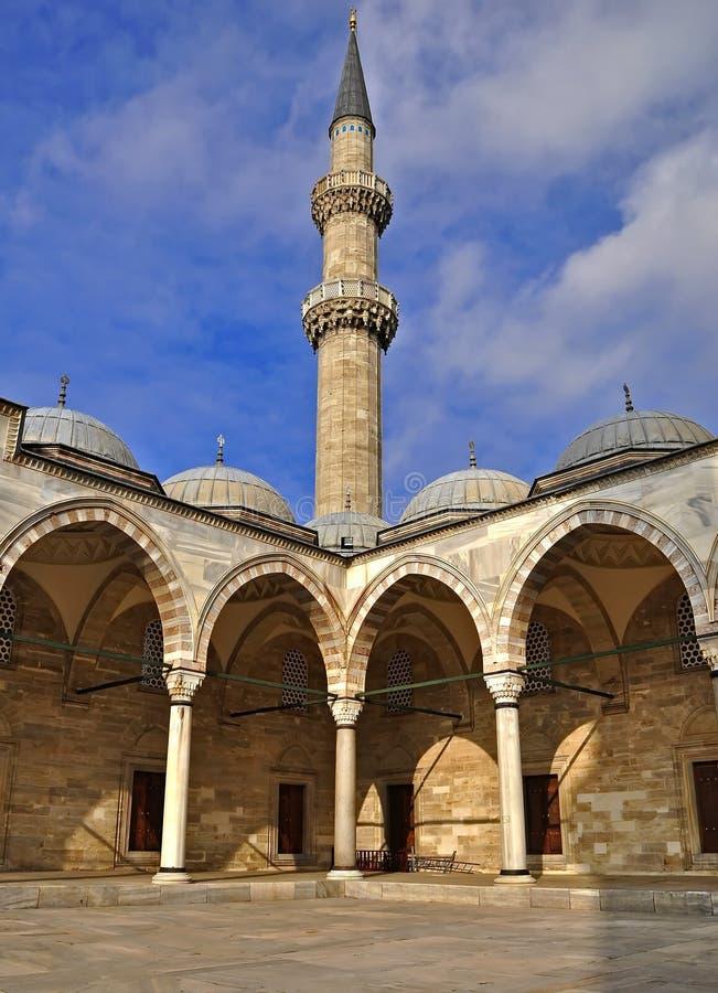 Suleymaniye Moschee lizenzfreie stockfotos