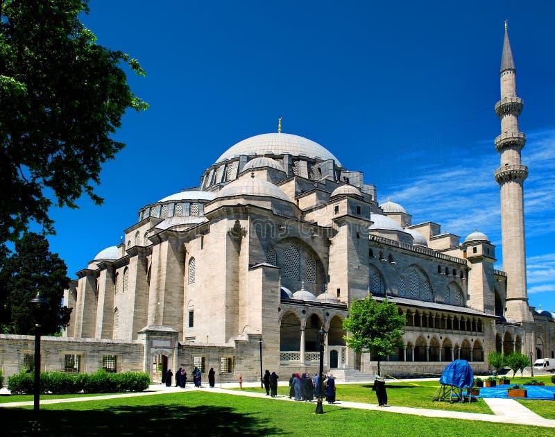 Suleymaniye Moschee in Istanbul stockbilder