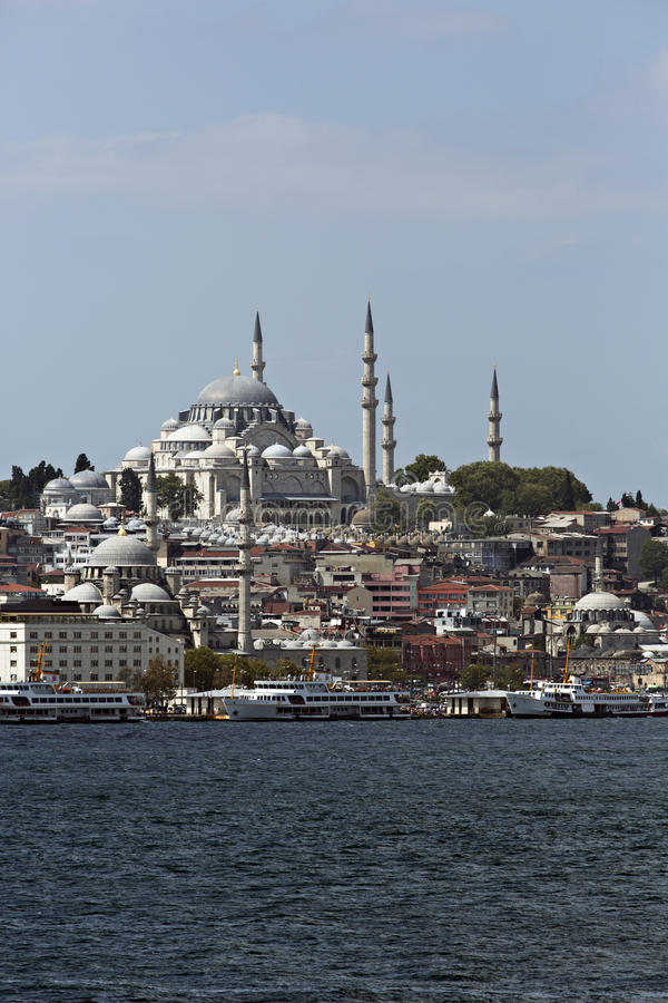 Download Suleymaniye Mosque From Goldenhorn Stock Photo - Image: 26636342