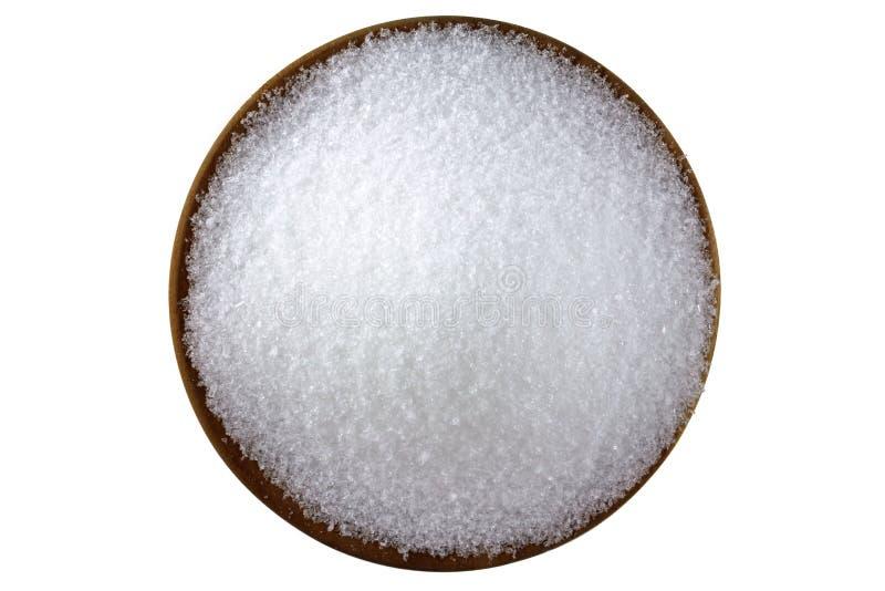 Sulfato de magnésio (sais de Epsom) imagem de stock