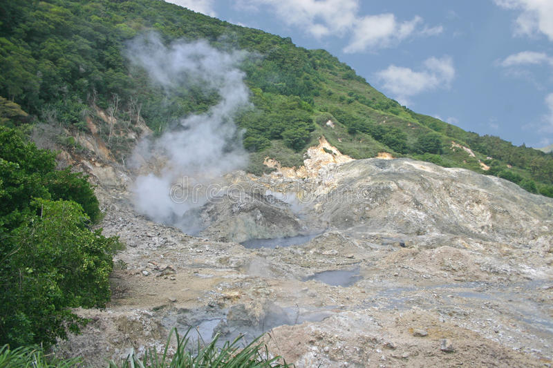 Sulfur Springs Royalty Free Stock Images