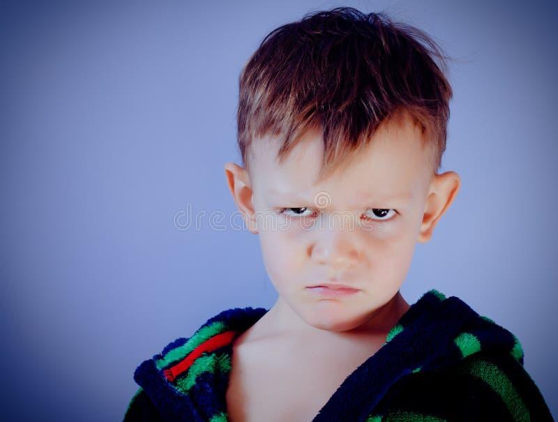 Sulky μικρό παιδί στοκ φωτογραφία με δικαίωμα ελεύθερης χρήσης