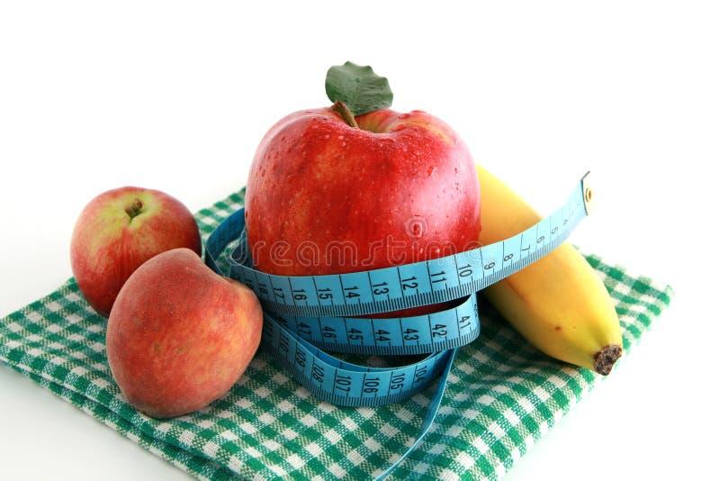 Sulla dieta immagine stock