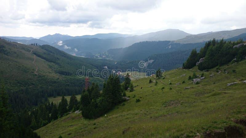 Sulla montagna fotografie stock libere da diritti