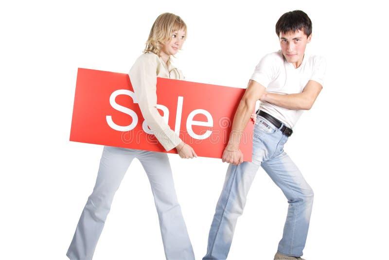 Sulla vendita immagini stock