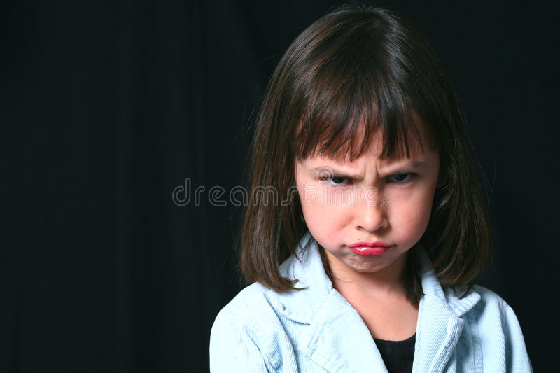 Sullen royalty free stock images