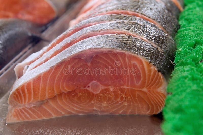 Download Sullen salmon stock photo. Image of slices, plastic, salmon - 2060924