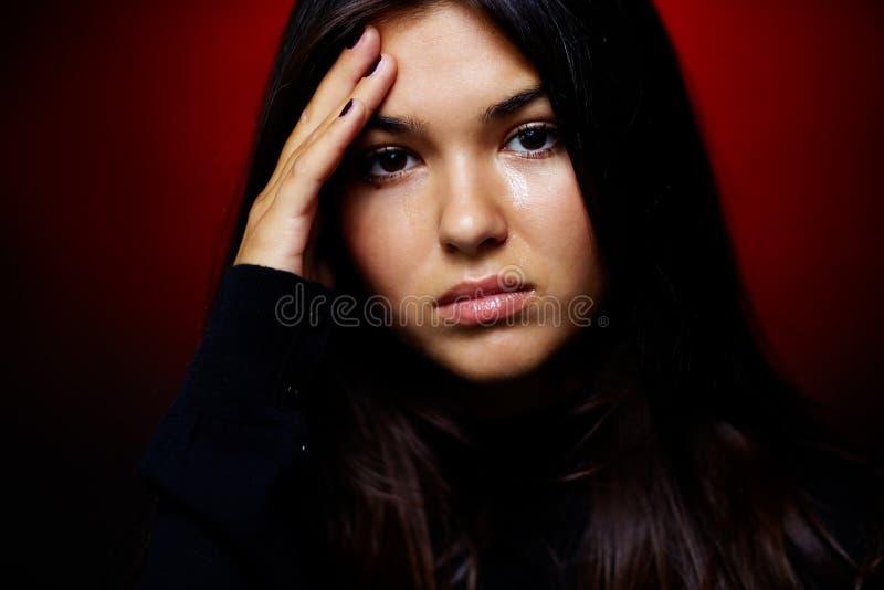 Download Sullen teenager stock image. Image of beautiful, despair - 24309829
