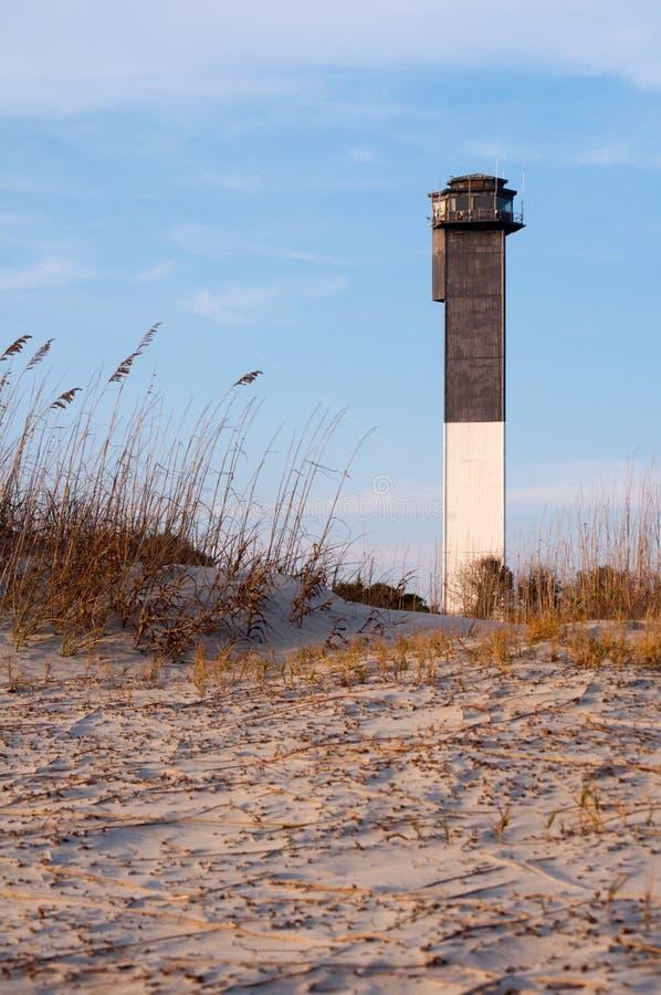 sullvan ηλιοβασίλεμα φάρων s νησιών στοκ εικόνες με δικαίωμα ελεύθερης χρήσης