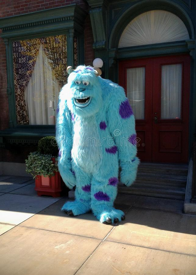 Sully Monsters INC royalty free stock photos