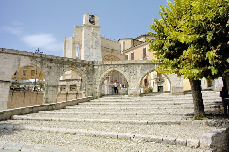 Sulmona Italien stockbild