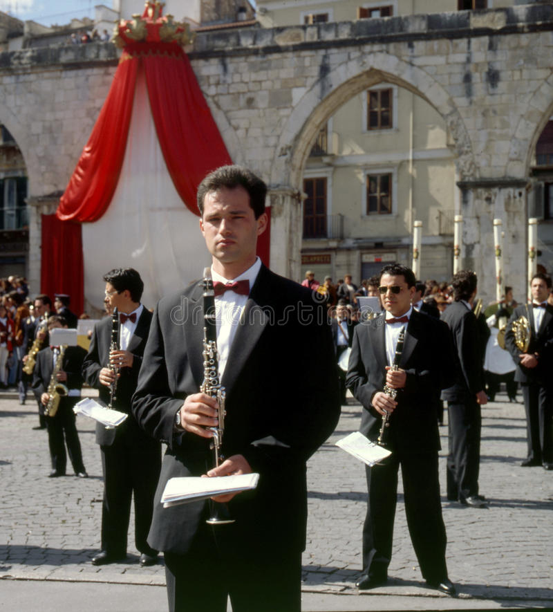 Sulmona, Włochy obraz royalty free