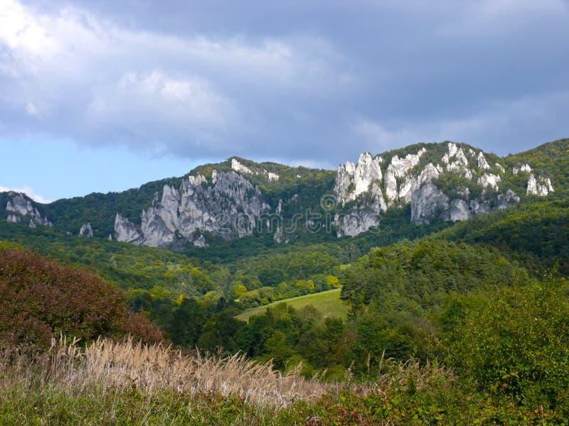 Sulov rocks royalty free stock photos
