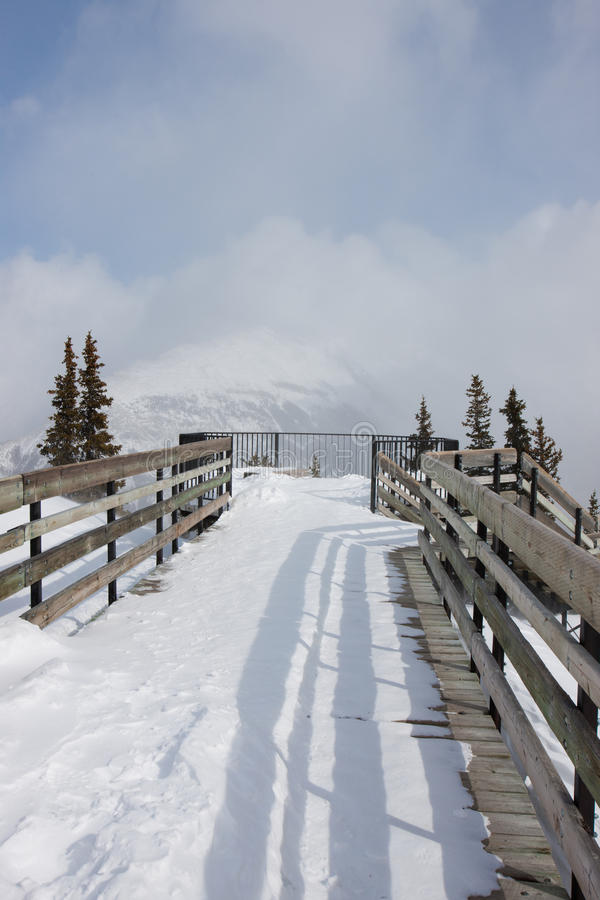 Sulphur Mountain stock photo