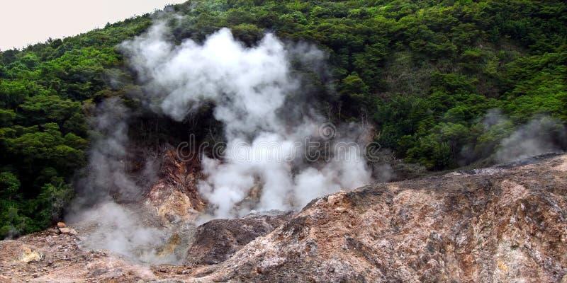 Sulphur Springs - Saint Lucia stock photography