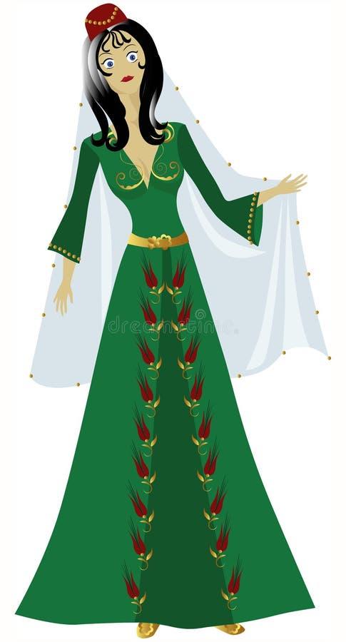 Sultán ilustración del vector