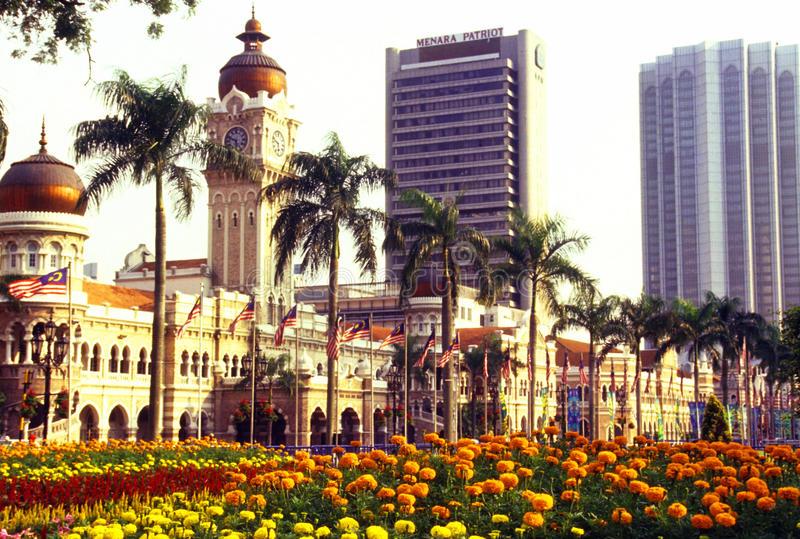 Sultan Abdul Samad building. The Sultan Abdul Samad Building (Malay: Bangunan Sultan Abdul Samad is located in front of the Dataran Merdeka (Independence Square stock images