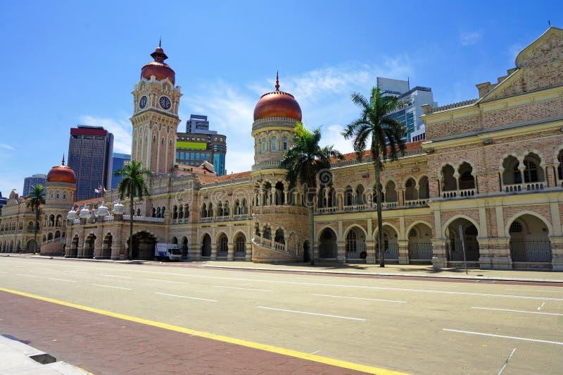 Sultan Abdul Samad Building arkivbild