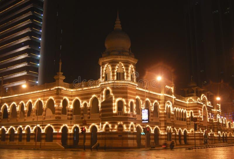 Sultan abdul samad building royalty free stock image
