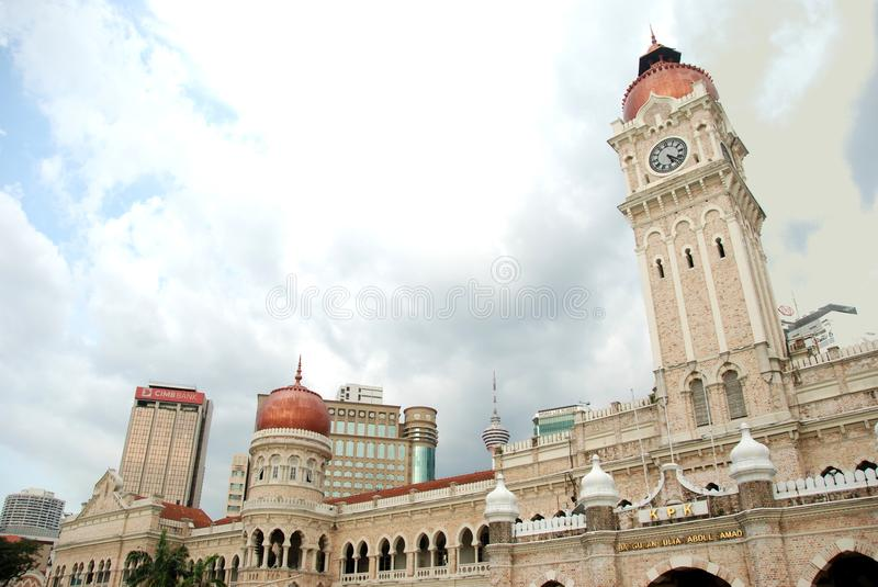 Sultan Abdul Samad Building of KL royalty free stock images
