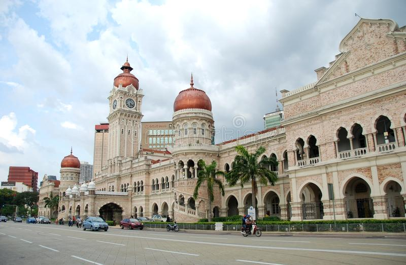 Sultan Abdul Samad Building of KL royalty free stock image