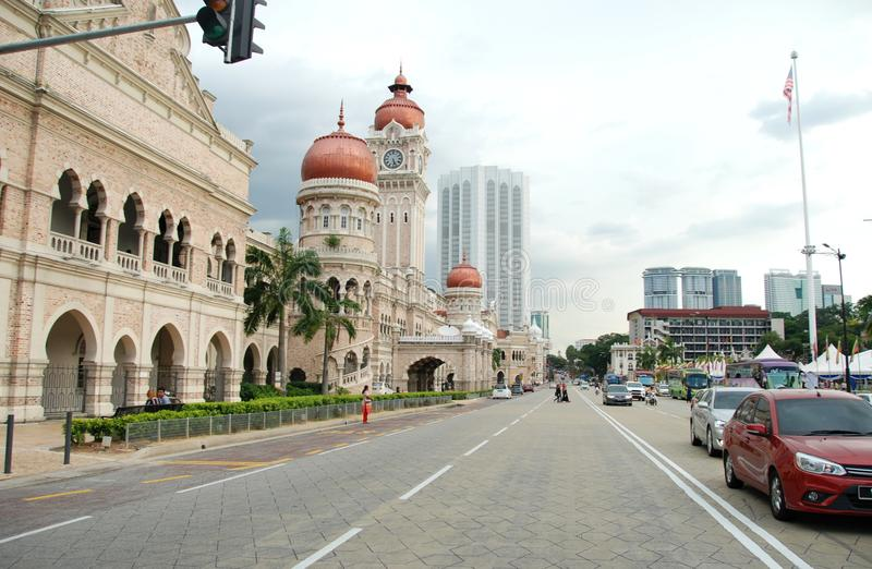 Sultan Abdul Samad Building of KL stock photography