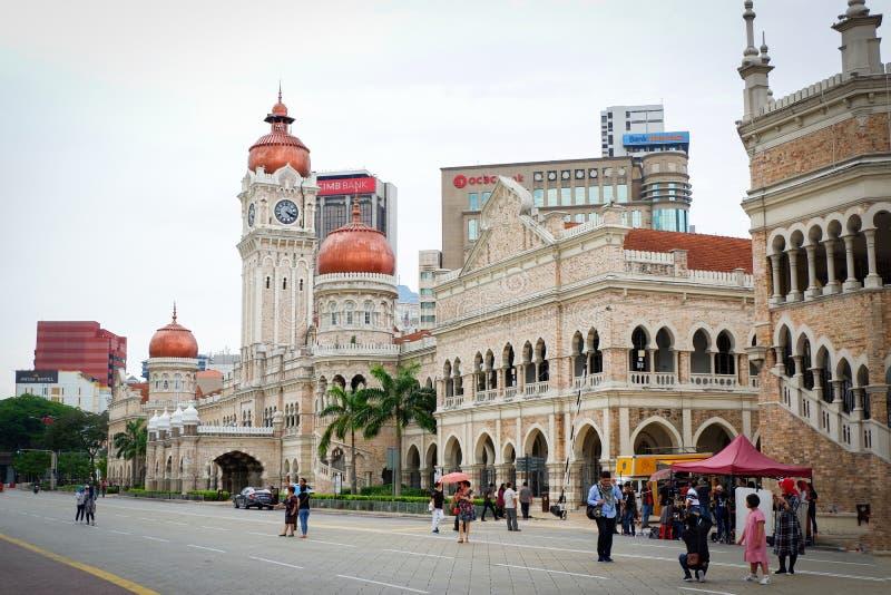 Sultan Abdul Samad Building Kuala Lumpur, Malaysia lizenzfreies stockbild