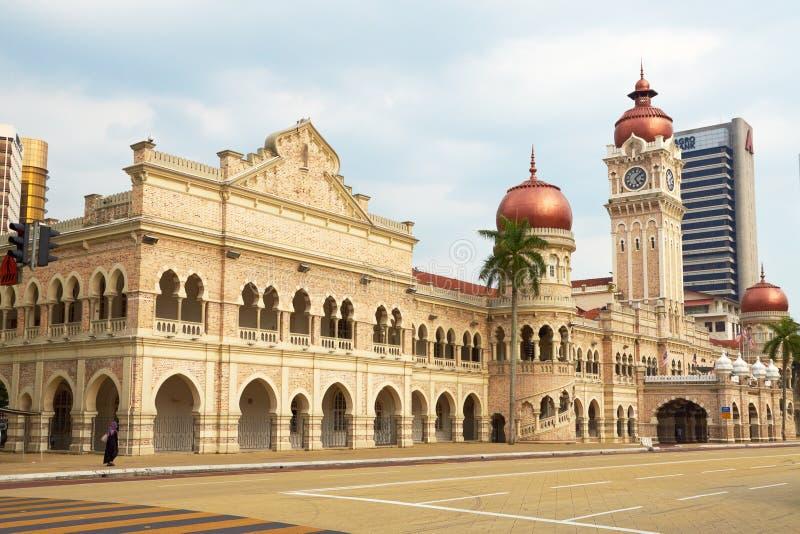 Sultan Abdul Samad Building (Kuala Lumpur, Malaysia) arkivfoto
