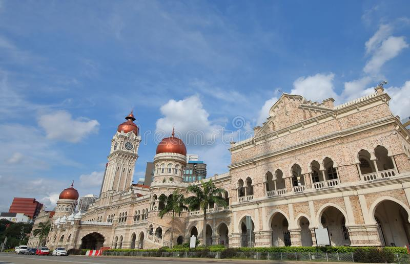 Sultan Abdul Samad Building Kuala Lumpur Malaysia stock photo