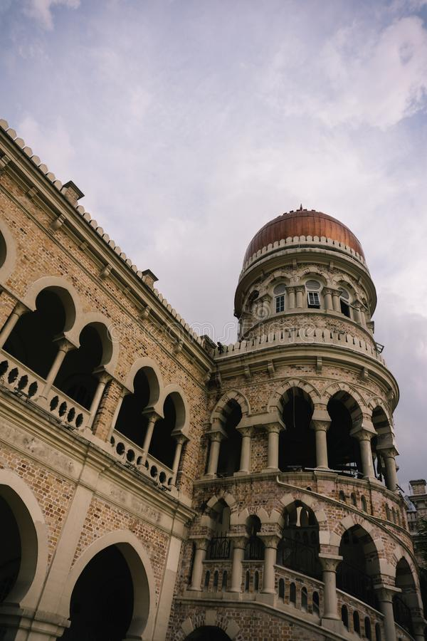 Sultan Abdul Samad Building, Kuala Lumpur. This picture was taken at Kuala Lumpur`s Merdeka Square, Kuala Lumpur, Malaysia stock photo