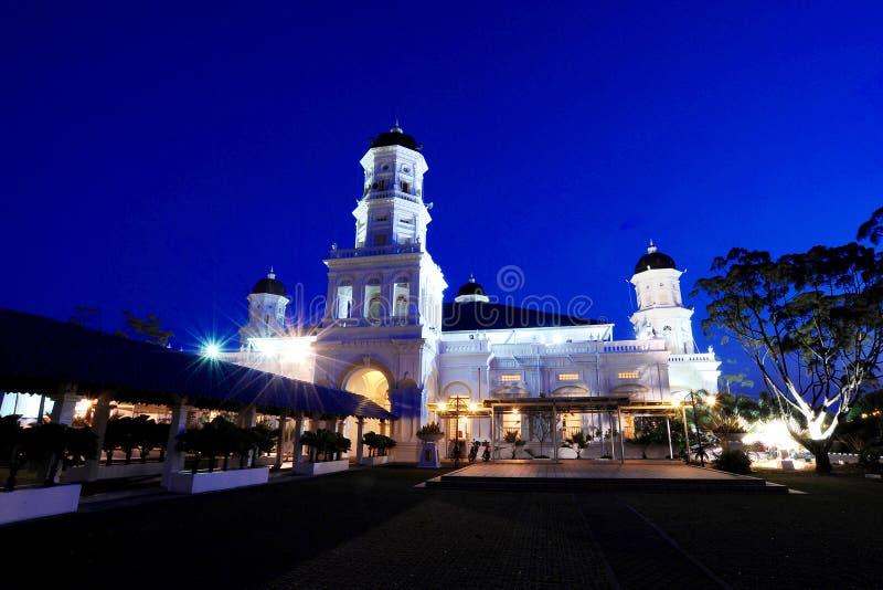 Sultan Abu Bakar Mosque Editorial Stock Photo