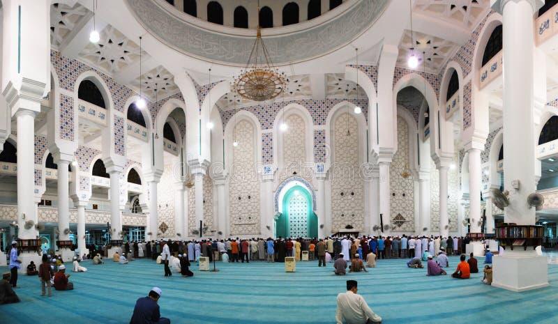 Sultan Ahmad I Moskee, Kuantan, Pahang royalty-vrije stock foto