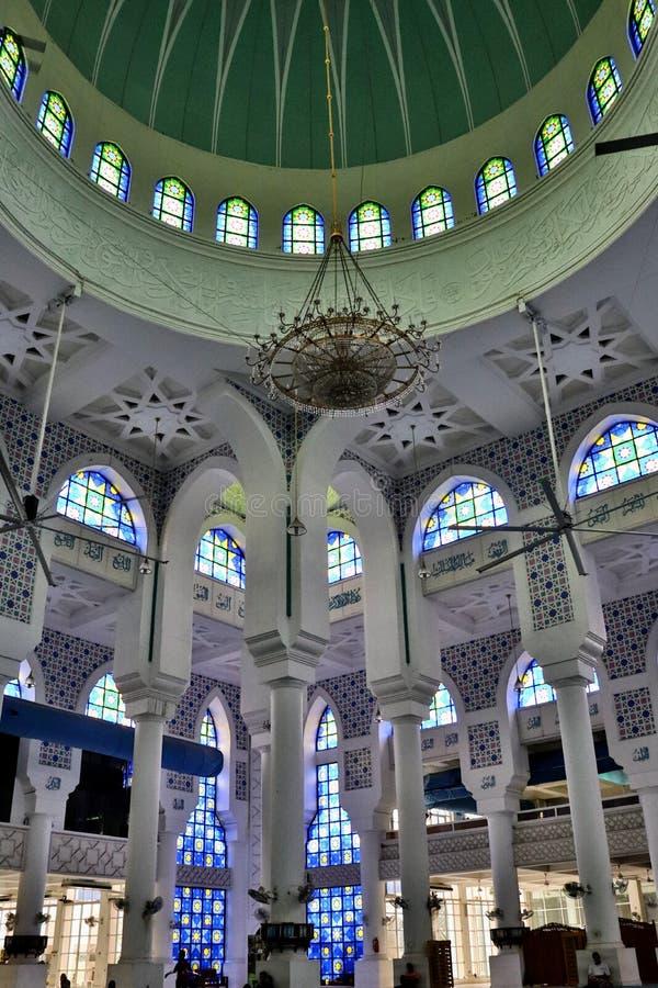 Sultan Ahmad Shah moské i Kuantan 2 fotografering för bildbyråer