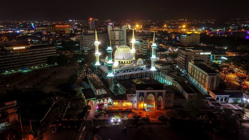 Sultan Ahmad Shah Mosque fotografering för bildbyråer
