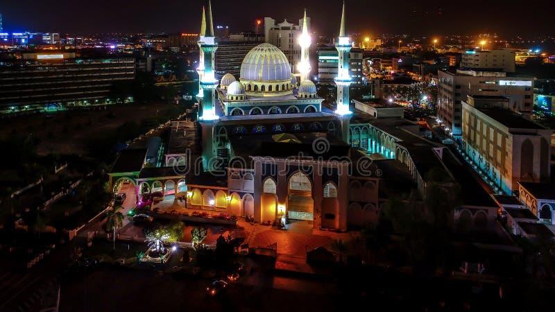Sultan Ahmad Shah Mosque imagem de stock royalty free