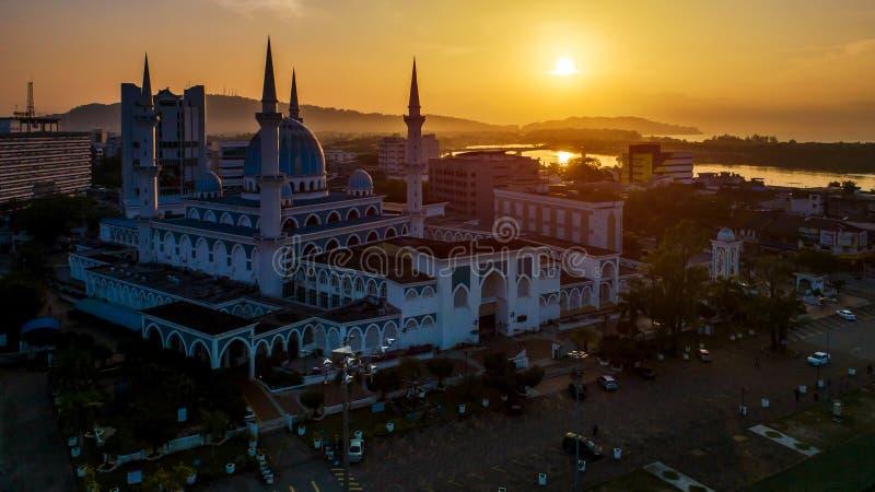 Sultan Ahmad Shah Mosque fotos de stock