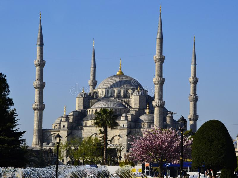 Sultan Ahmed Blue Mosque, Istanbul, die T?rkei stockfotos