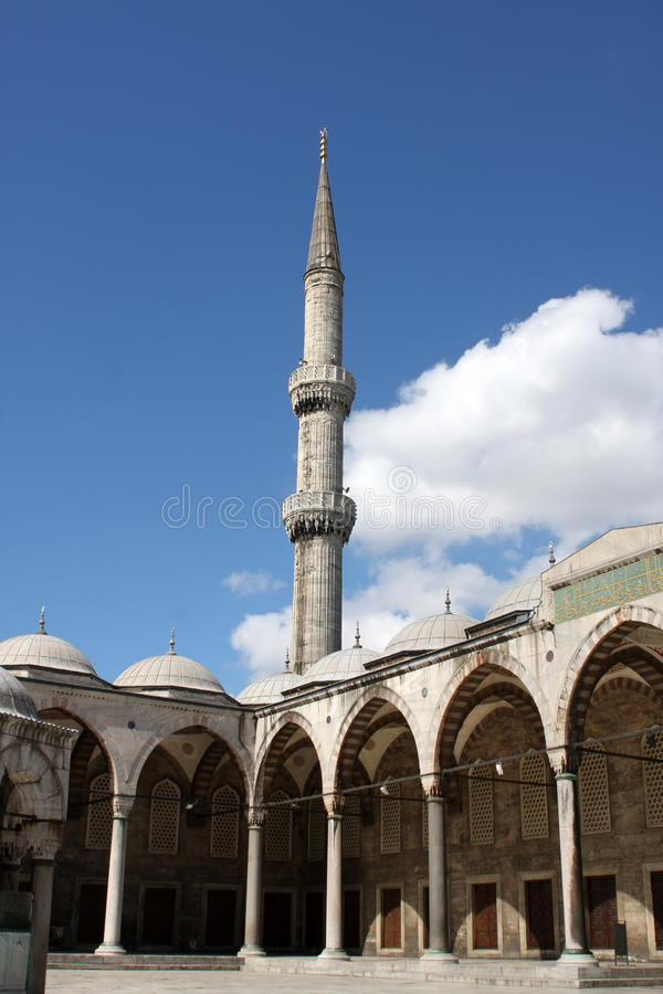 Sultan-Ahmed-Moschee stockfotografie