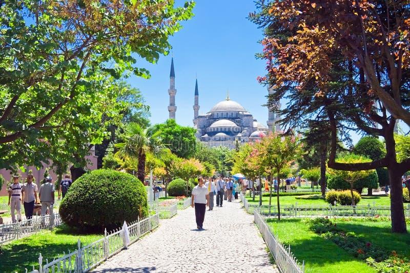 Sultan-Ahmed-Moschee lizenzfreie stockbilder