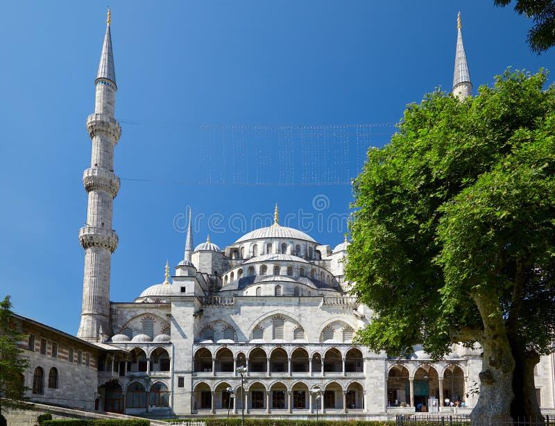 Sultan-Ahmed-Moschee, Istanbul lizenzfreies stockfoto